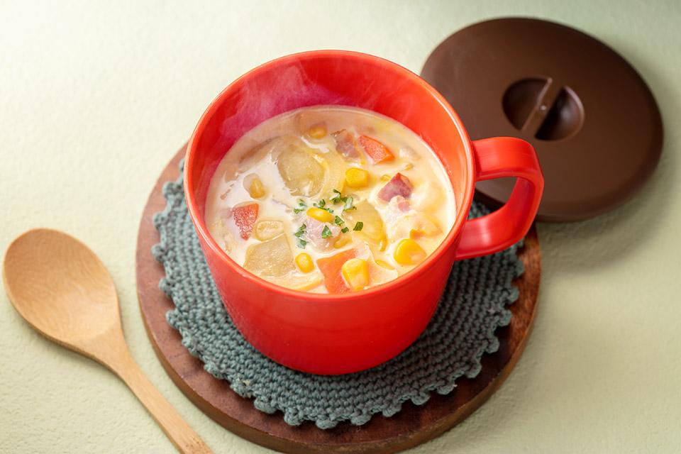 シチュー風クリームスープ